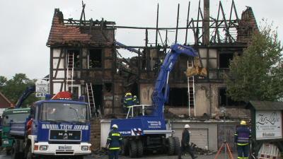 neukirchen brand ruine 25 09 2012