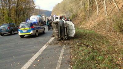 kirchlotheim unfall b252 12 11 2012
