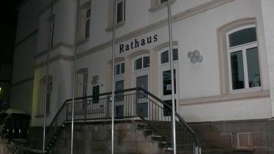 wolfhagen einbruch rathaus 19 01 2013
