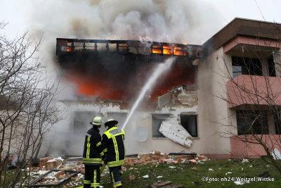 alsfeld wohnhausbrand 16012014