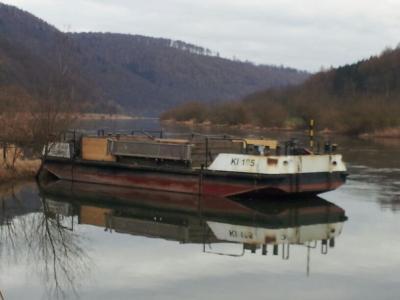 bad karlshafen schiff oberweser 26022014