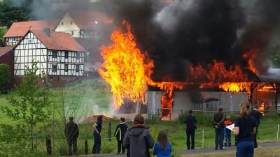 scheunenbrand rotenburg 14062014