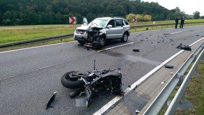 bad hersfeld motorradunfall 24082014