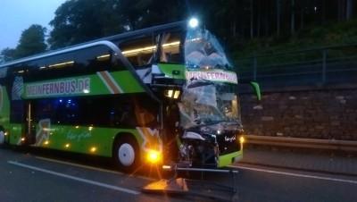 unfall a5 reisebus