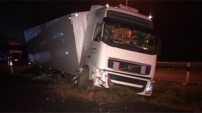 unfall truck bewusstlos001