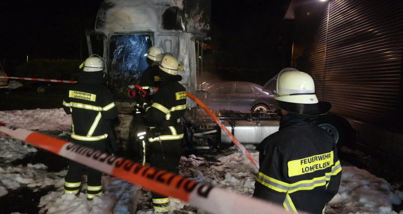 lohfelden lkw brand 2 13122014