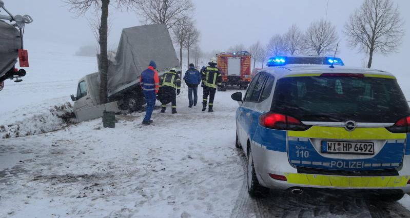ehlen unfall schnee 23022015