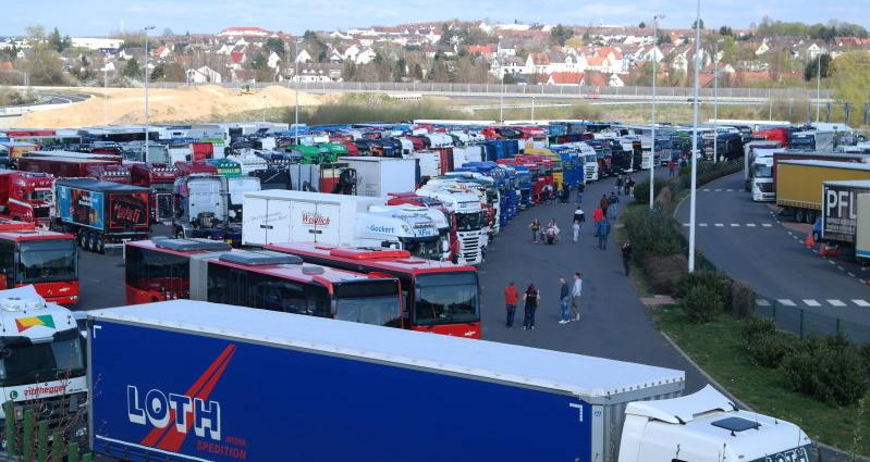 lohfelden truck show 18042015