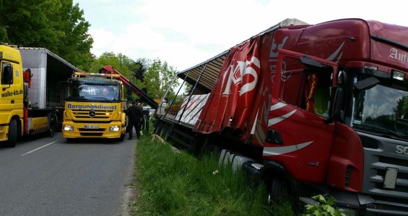 Unfall Witzenhausen 18 05 2015