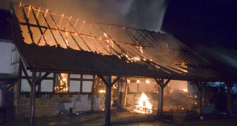 gilserberg scheunenbrand 22112015