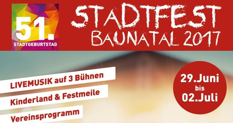 stadtfest baunatal 21062017