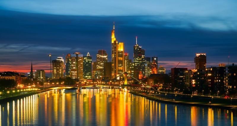 frankfurter skyline honorrarfrei