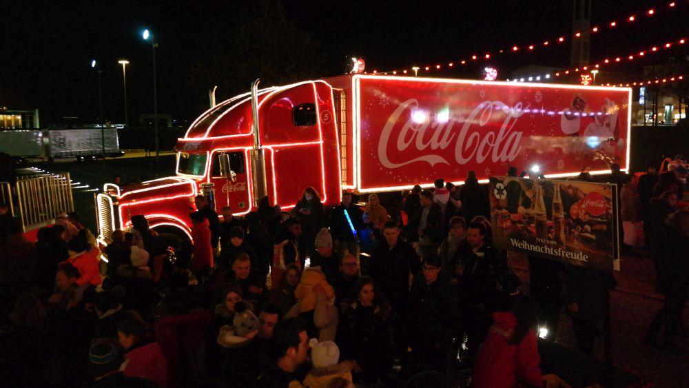 Coca Cola Trucks 2021 Berlin