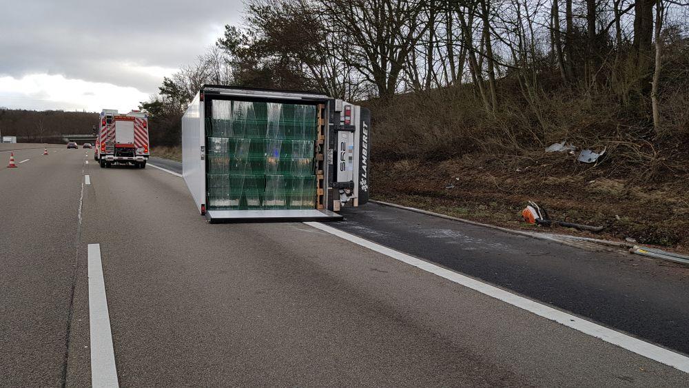 Unfall A7 Homberg Efze