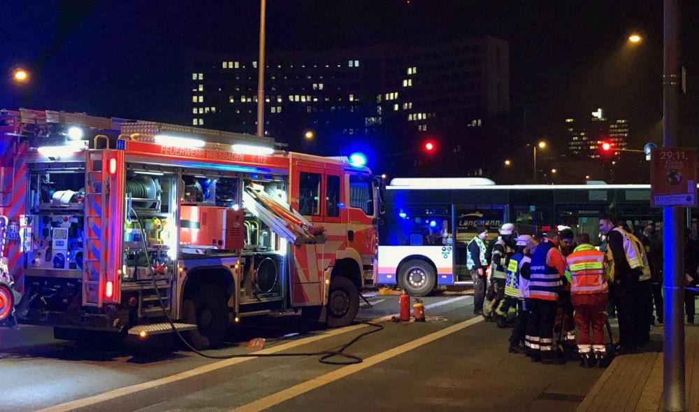 Wiesbaden Bus Unfall
