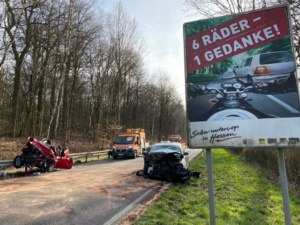 stadtallendorf unfall 16032020009