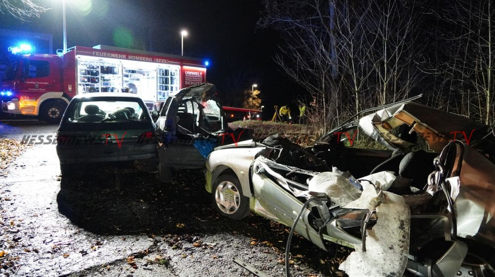 Unfall Homberg Efze